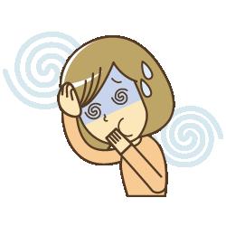 川崎市中原区 ヒロ整骨院&整体院の頭痛イラスト